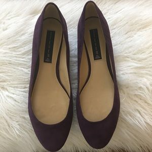 Steve Madden Purple Suede Flats Size 9.5 M